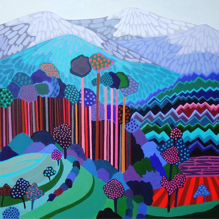Vibrant Landscapes